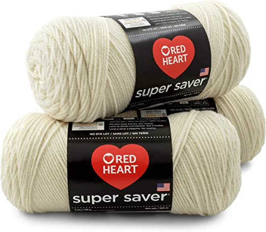 3Pk Coats Yarn E300-718 Red Heart Super Saver Yarn-Shocking Pink
