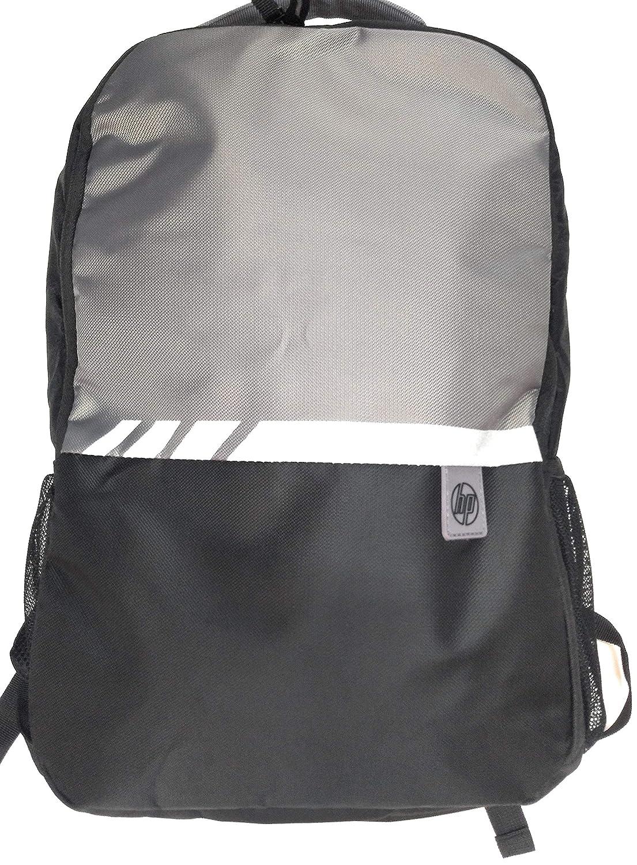 f0b42ef1e18 HP Essentials Polyester Black, Grey Laptop Backpack