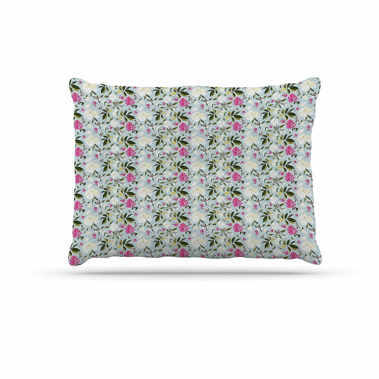 KESS InHouse Draper Crystal Purple Geometric Dog Bed, 30  x 40