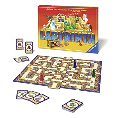Ravensburger Labyrinth Family Board Game for Kids and Adults Age 7 and Up - Millions Sold, Easy to Learn and Play with Great Replay Value