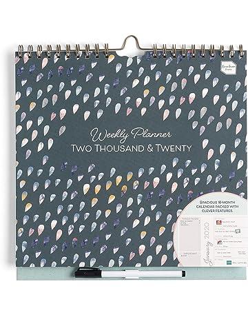 Mini Calendario 2019 Para Imprimir Grande.Amazon Es Calendarios De Pared Oficina Y Papeleria