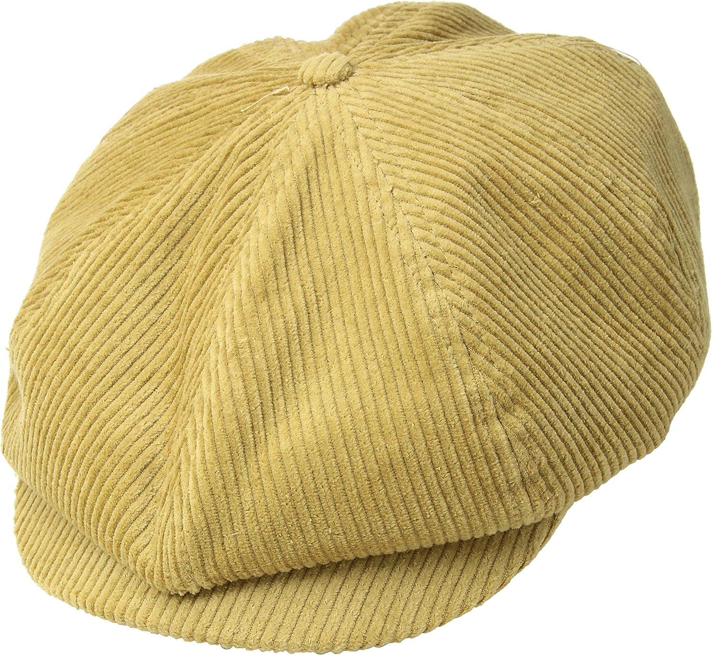 a25f65f504d4f ... best price brixton womens brood snap cap mustard cord lg 7 1 2 at  amazon womens