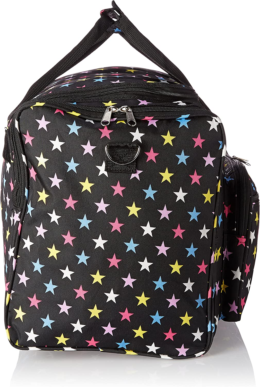 Fuchsia Trim Giraffe World Traveler 22 Inch Duffle Bag