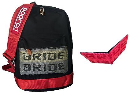 zapatos de separación 0c923 defc4 Bride mochila Sparco JDM con arnés de carreras rojo y rojo ...