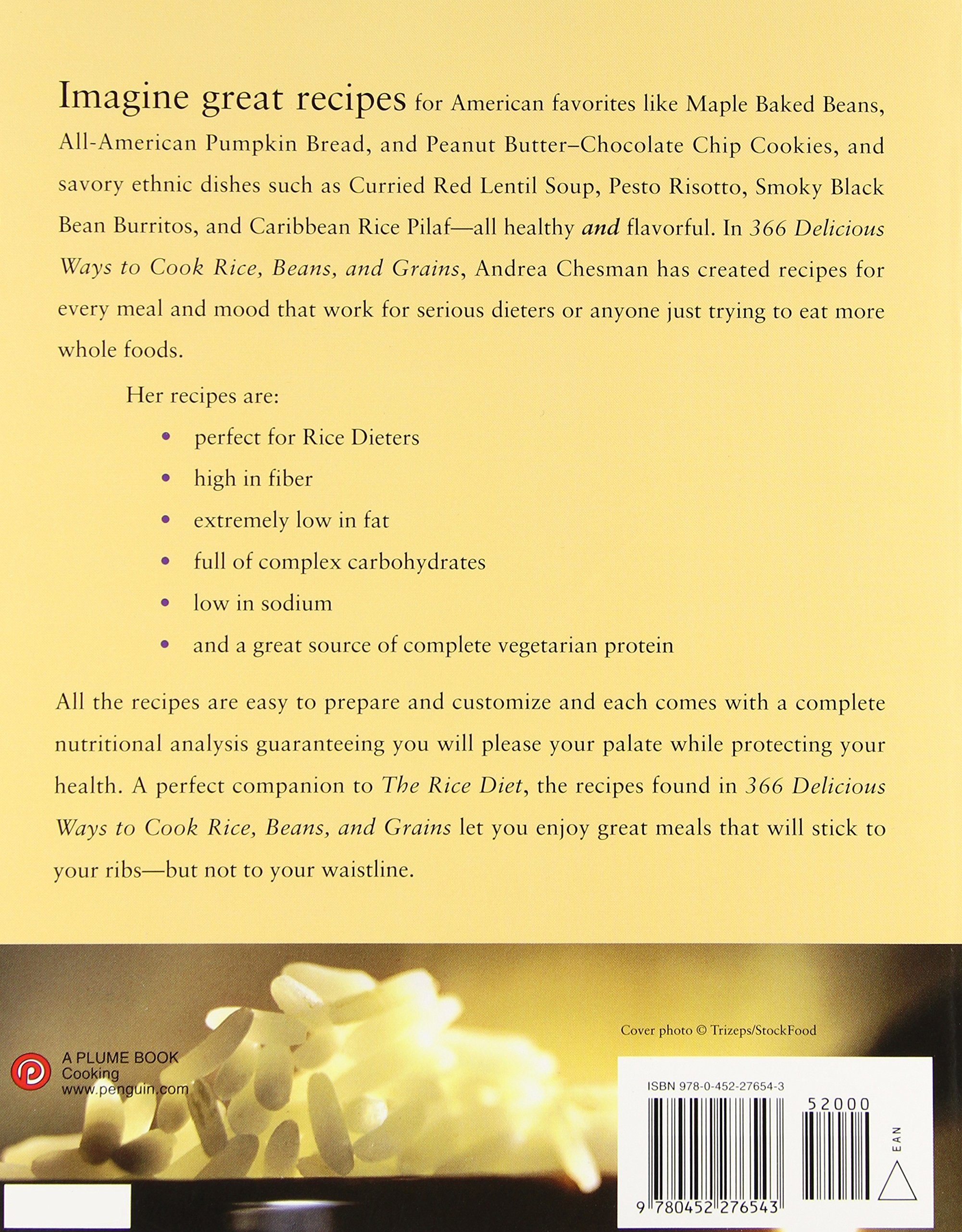 366 Delicious Ways To Cook Rice, Beans, And Grains: Andrea Chesman:  9780452276543: Amazon: Books