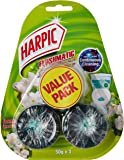Harpic Toilet Cleaner In the Cistern Flushmatic Jasmine, 3-Piece