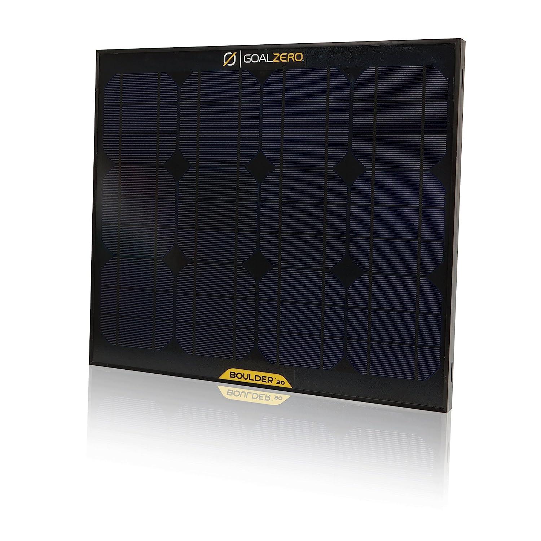 Goal Zero Boulder 30w solar panel - Off Road Trailer Info