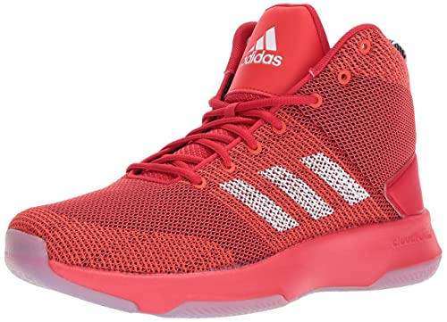 adidas neo cloudfoam red shoes