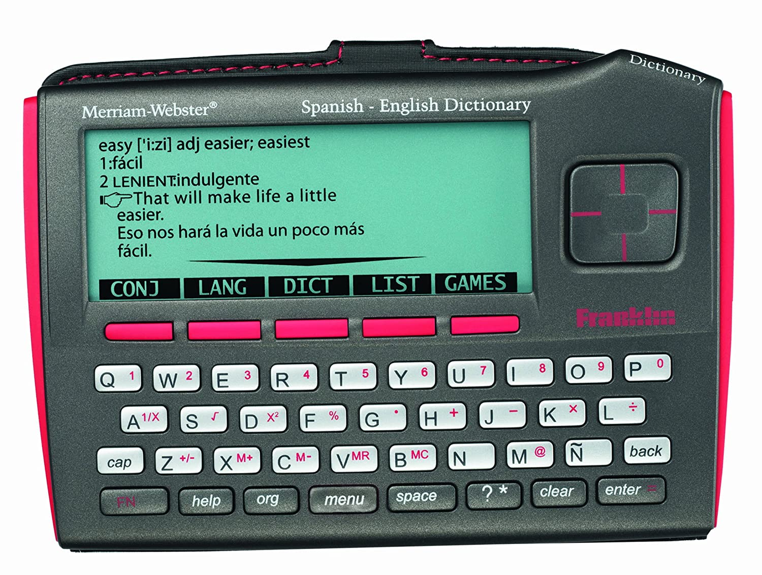 Franklin DBE-1510 Merriam-Webster's Spanish-English Bilingual Dictionary Franklin Electronics