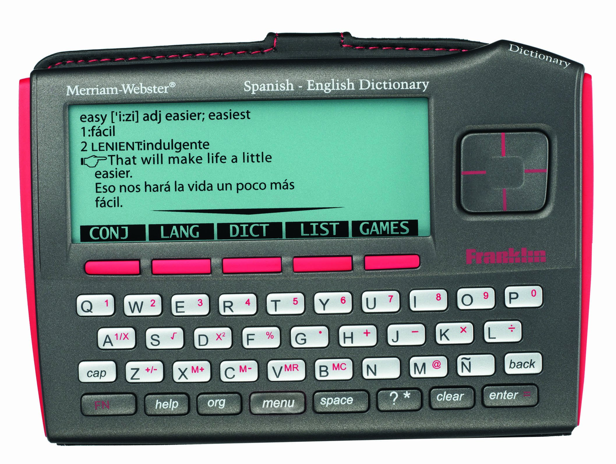 Franklin Merriam-Webster's Spanish-English Bilingual Dictionary (DBE-1510)