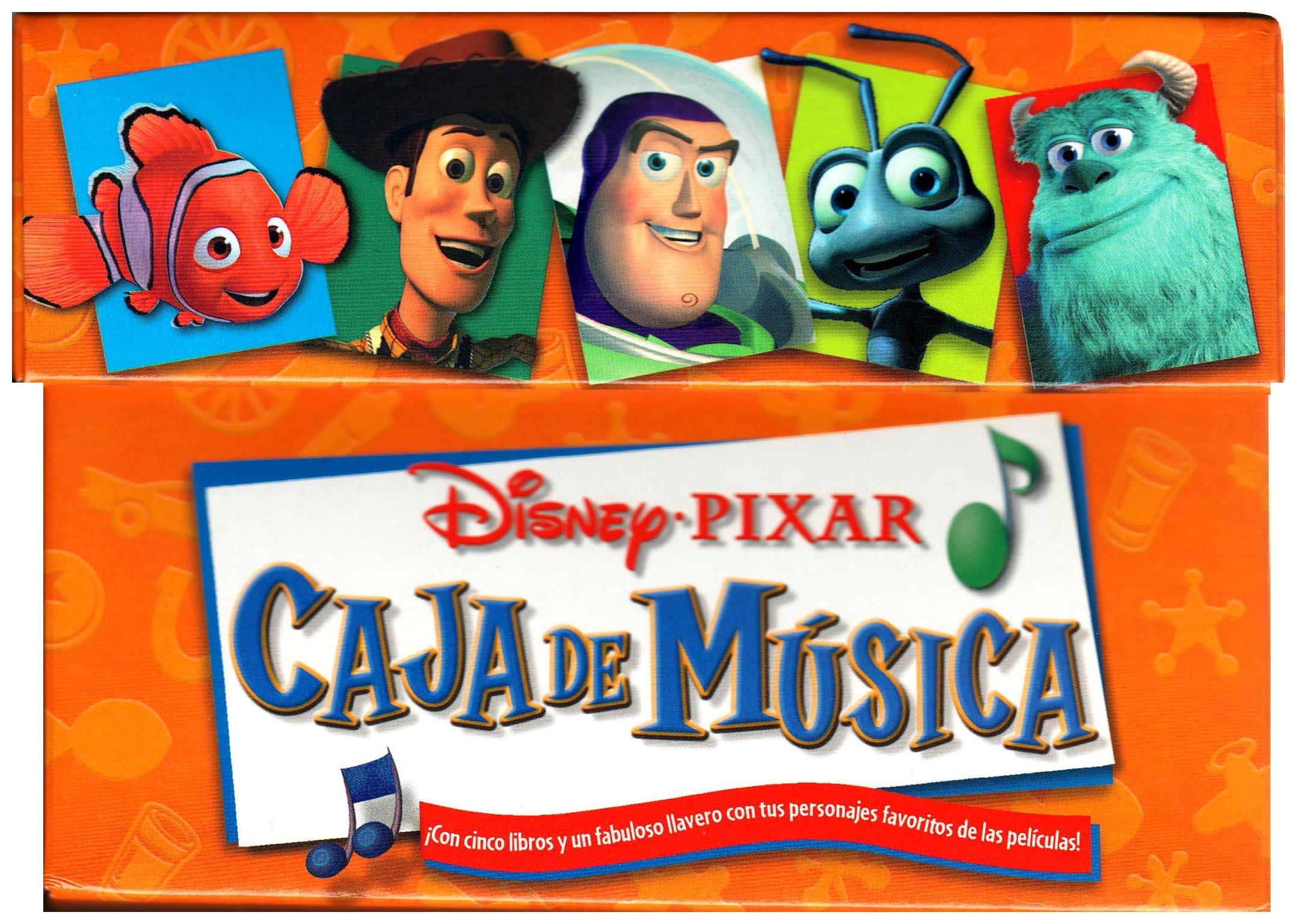 Caja de musica / Music Box (Disney/Pixar): Amazon.es: Not ...
