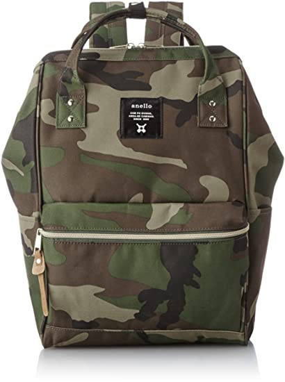 5bd8bccbe7 Japan Anello Backpack Unisex LARGE CAMO Rucksack Waterproof Canvas Bag  Campus School: Amazon.ca: Toys & Games