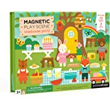 Petit Collage Treehouse Party Magnetic Play Scene Magnetic playset, Animal Friends