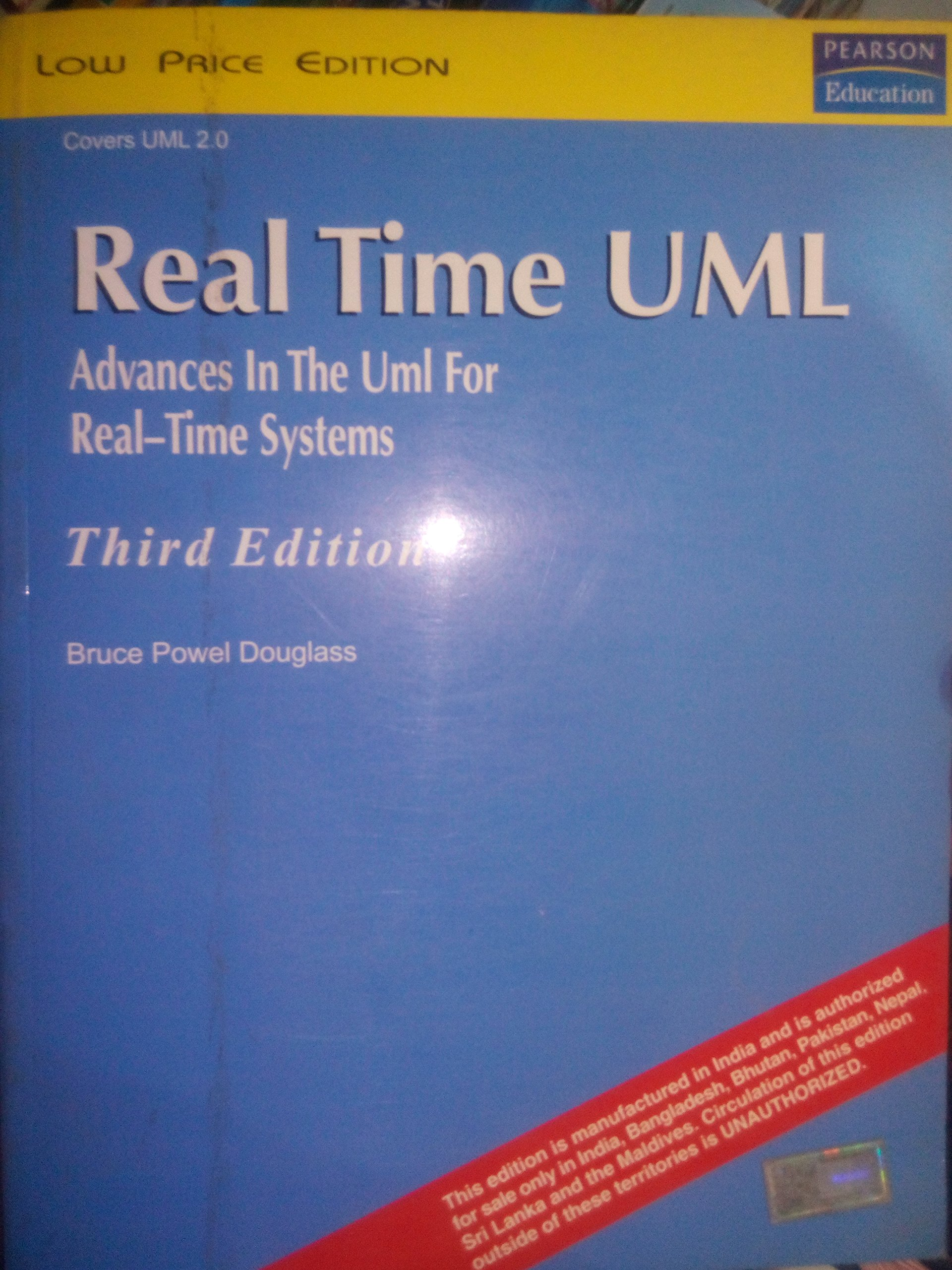 Buy Real Time UML: 3/Ed Advances in the UML for Real-Time Systems ...