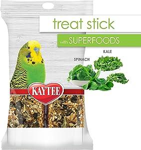 Kaytee Avian Superfood Treat Stick Spinach & Kale 5.5oz