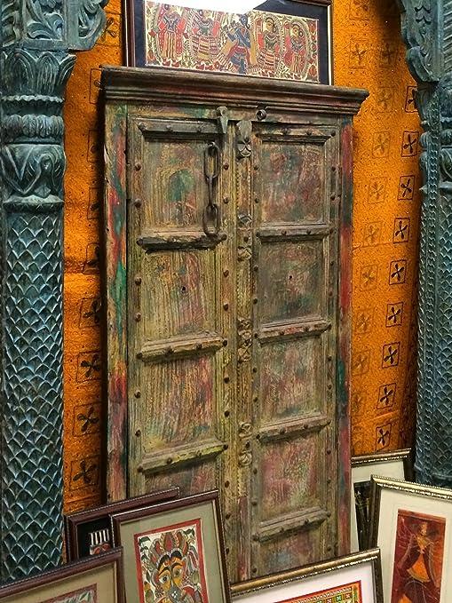 Antique Doors Vintage Patina Architecture Unique Temple Doors Frame India - Amazon.com: Antique Doors Vintage Patina Architecture Unique Temple