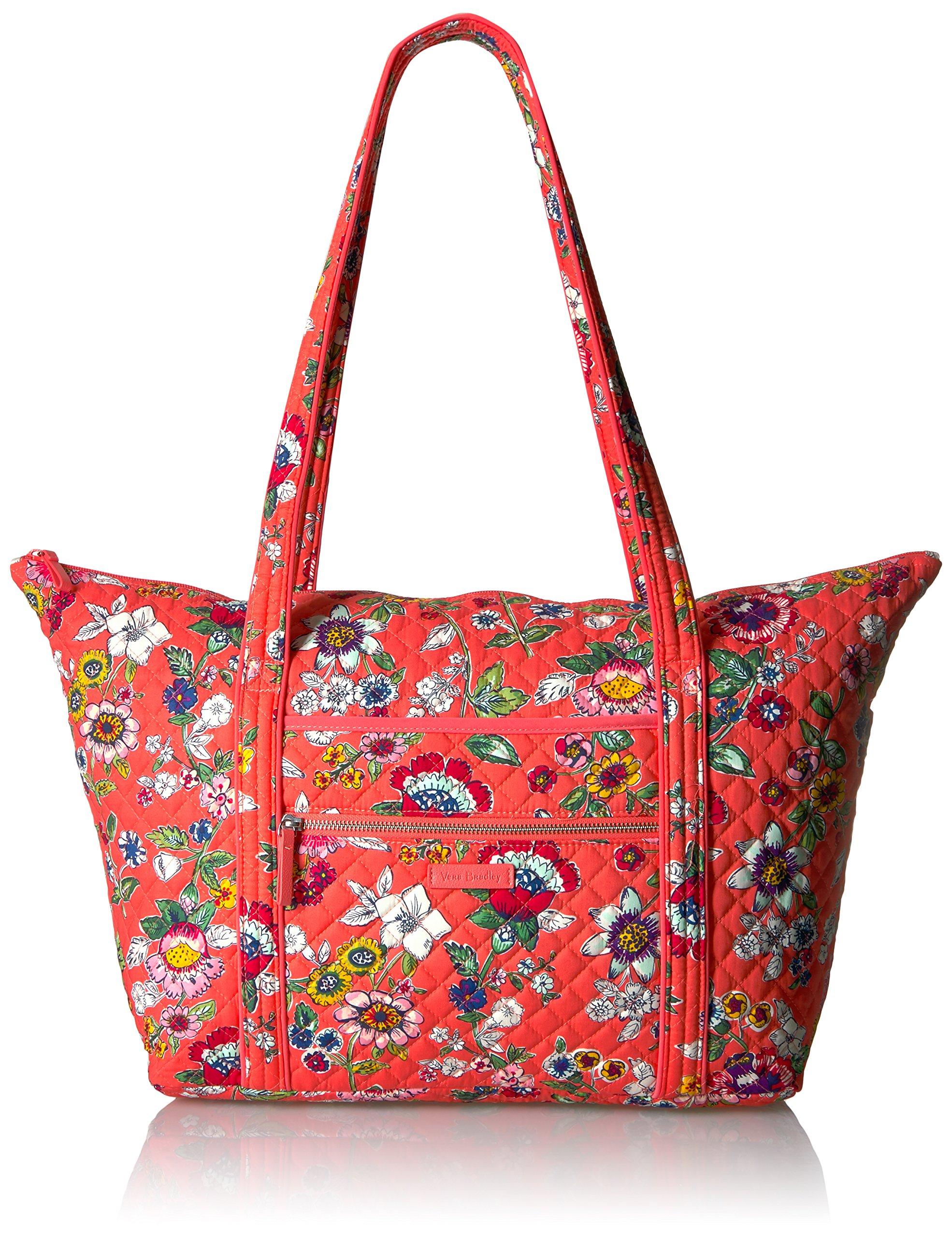 Vera Bradley Women's Iconic Miller Travel Bag-Signature