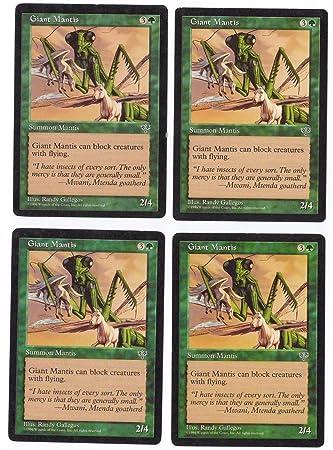 Amazon.com: Gigante Mantis – Playset de 4 (Magic the ...