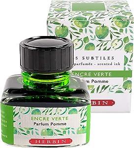 Herbin Scented Ink - 30ml Bottled - Green/Apple
