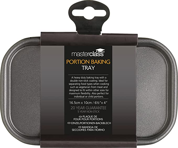 Amazon.com: Masterclass Non-stick Baking Tray 16.5x10cm, Sleeved: Baking Dishes: Kitchen & Dining