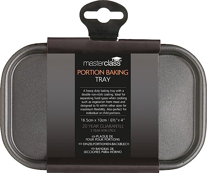 Amazon.com: Masterclass Non-stick Baking Tray 16.5x10cm, Sleeved: Baking Dishes: Kitchen & Dining