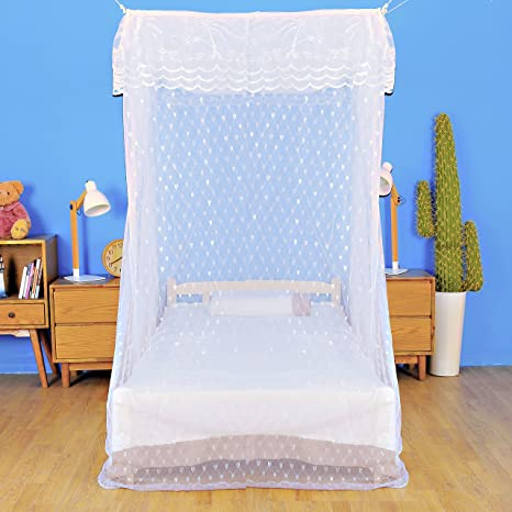 Artistic Mosquito Net Bed Canopy for Twin Sized Beds All-Natural No Insecticide & Amazon.com: Artistic Mosquito Net Bed Canopy for Twin Sized Beds ...