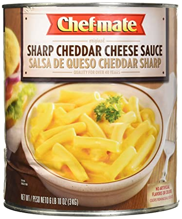Chef-mate Sharp Cheddar Cheese Sauce, Macaroni and Cheese, 6 lb 10 oz