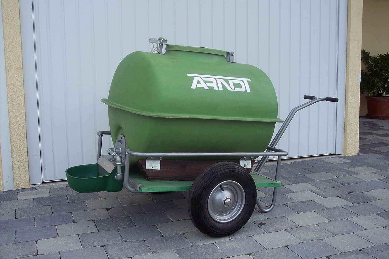 ARNDT Weidetränke Tränkefass auf Handwagen 160 Liter: Amazon.de ...
