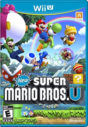 Amazon Com New Super Mario Bros U Video Games