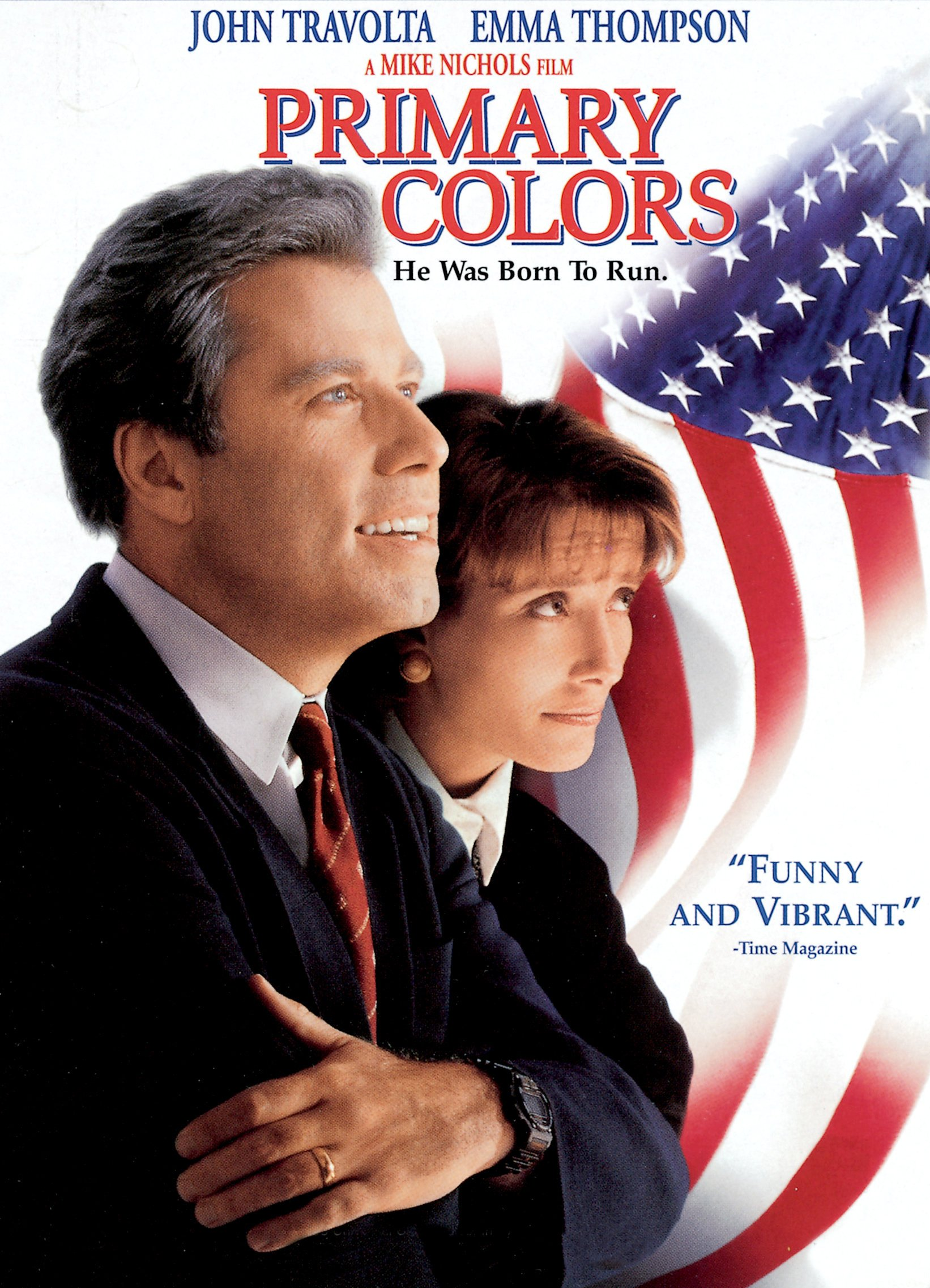 Amazon Primary Colors John Travolta Emma Thompson Billy