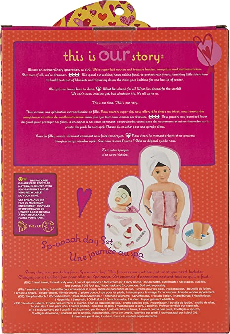 Our Generation Sp-aaaah Day Set for 18-Inch Dolls by Our ...