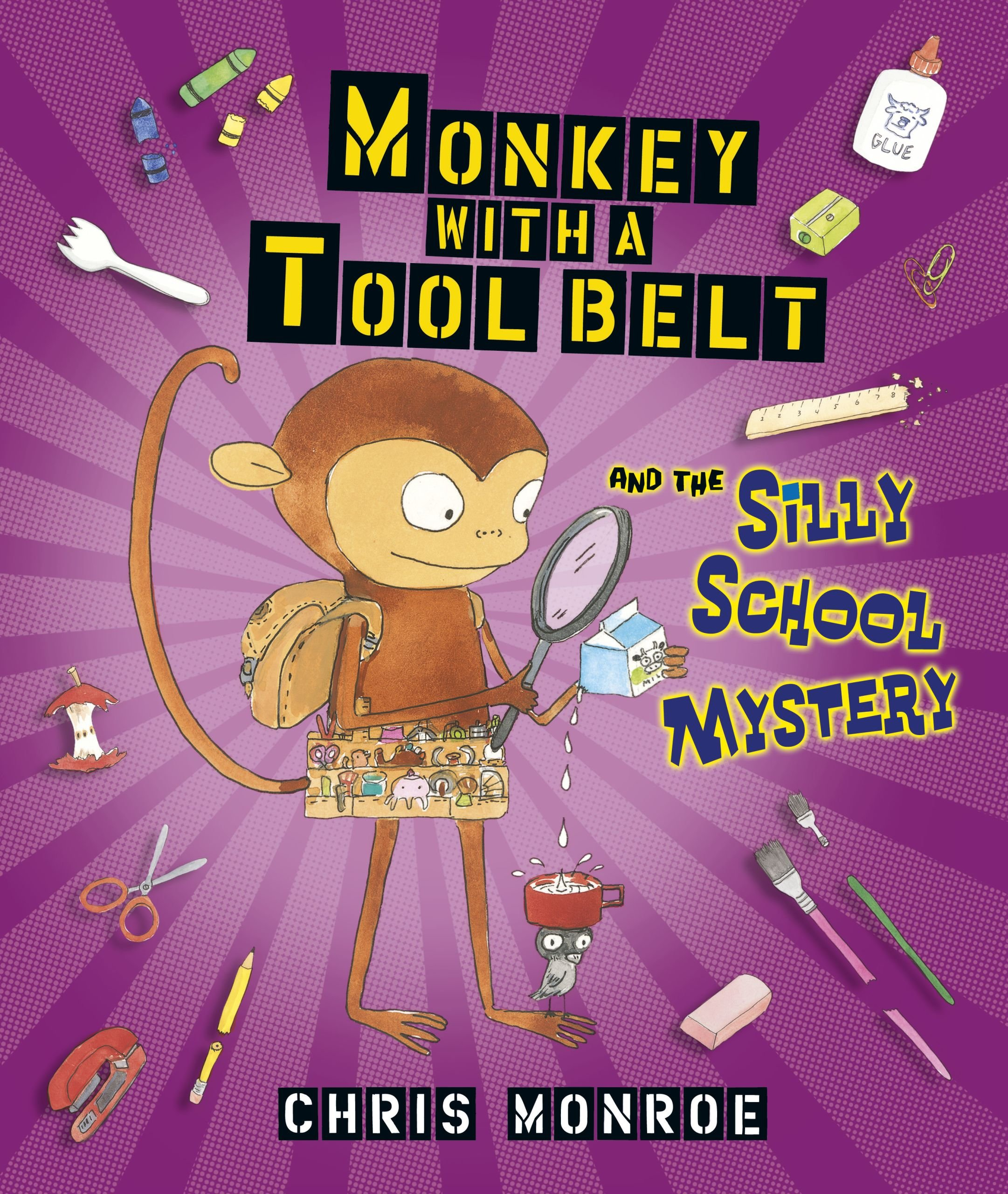 Read Online Monkey With a Tool Belt and the Silly School Mystery pdf epub