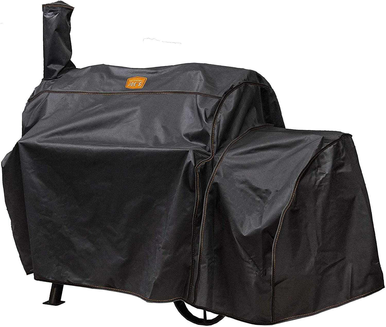 Oklahoma Joe's Highland Offset Smoker Cover, Black : Garden & Outdoor