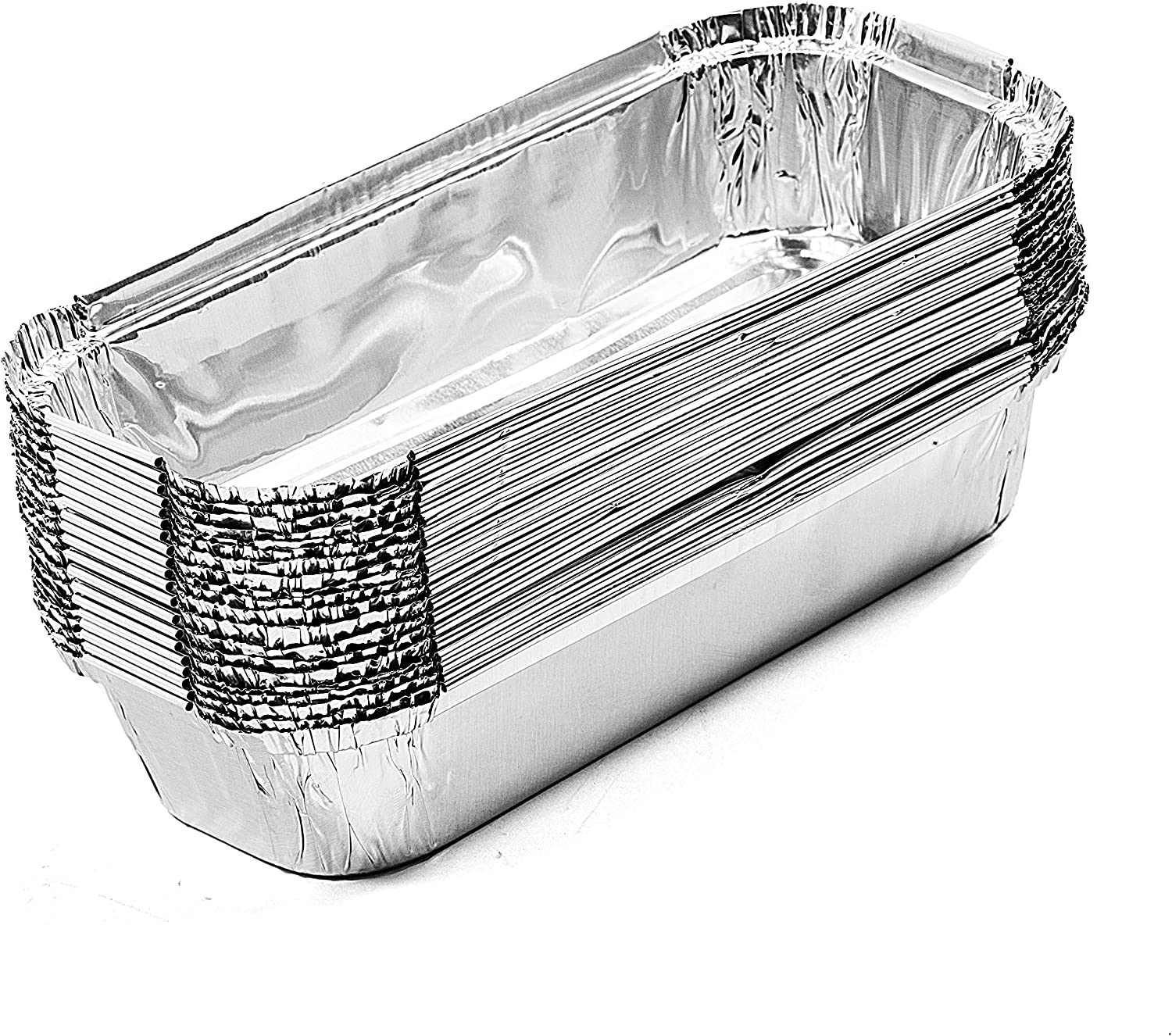 "Set of 20 Aluminum Drip pan Replacement for Char-Broil 9328812P06, 7"" L x3.5 W x1.5 D"