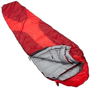 Deuter Orbit 0° Saco de Dormir, Unisex Adulto, Rojo (Fire/Cranberry