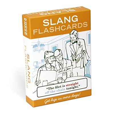 Knock Knock Slang Flashcards : Slang Flash Cards : Office Products