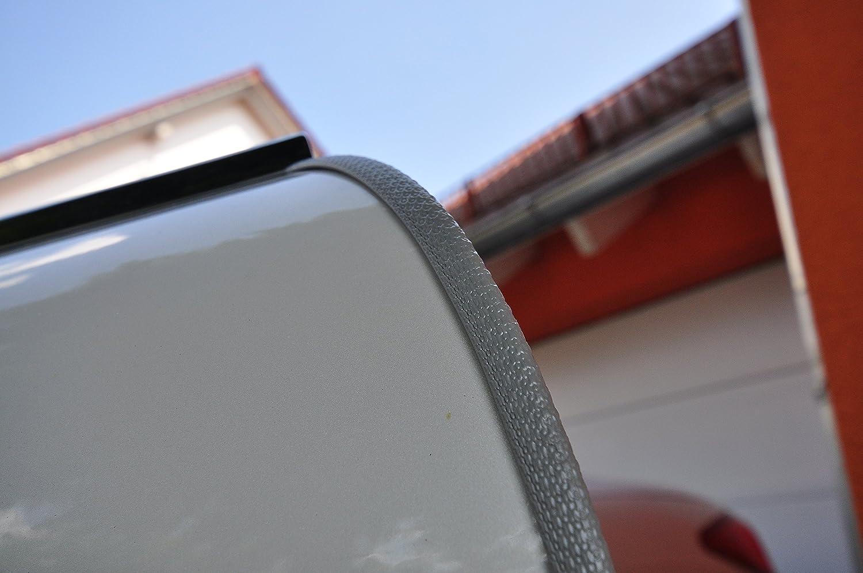 8 Meter T/ürkantenschutz Grau T/ürrammschutz Gummi passend f/ür Ihr Fahrzeug