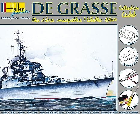 Heller Junior 49023 De Grasse - Maqueta de crucero de guerra ...