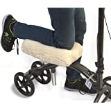 "Knee Walker Pad Cover - Extra Soft Comfortable Camo-Fleece Padding for Scooter ""Seat"" Rest - Elasticated Universal Fit - Improves Air Circulation - By Venoly"