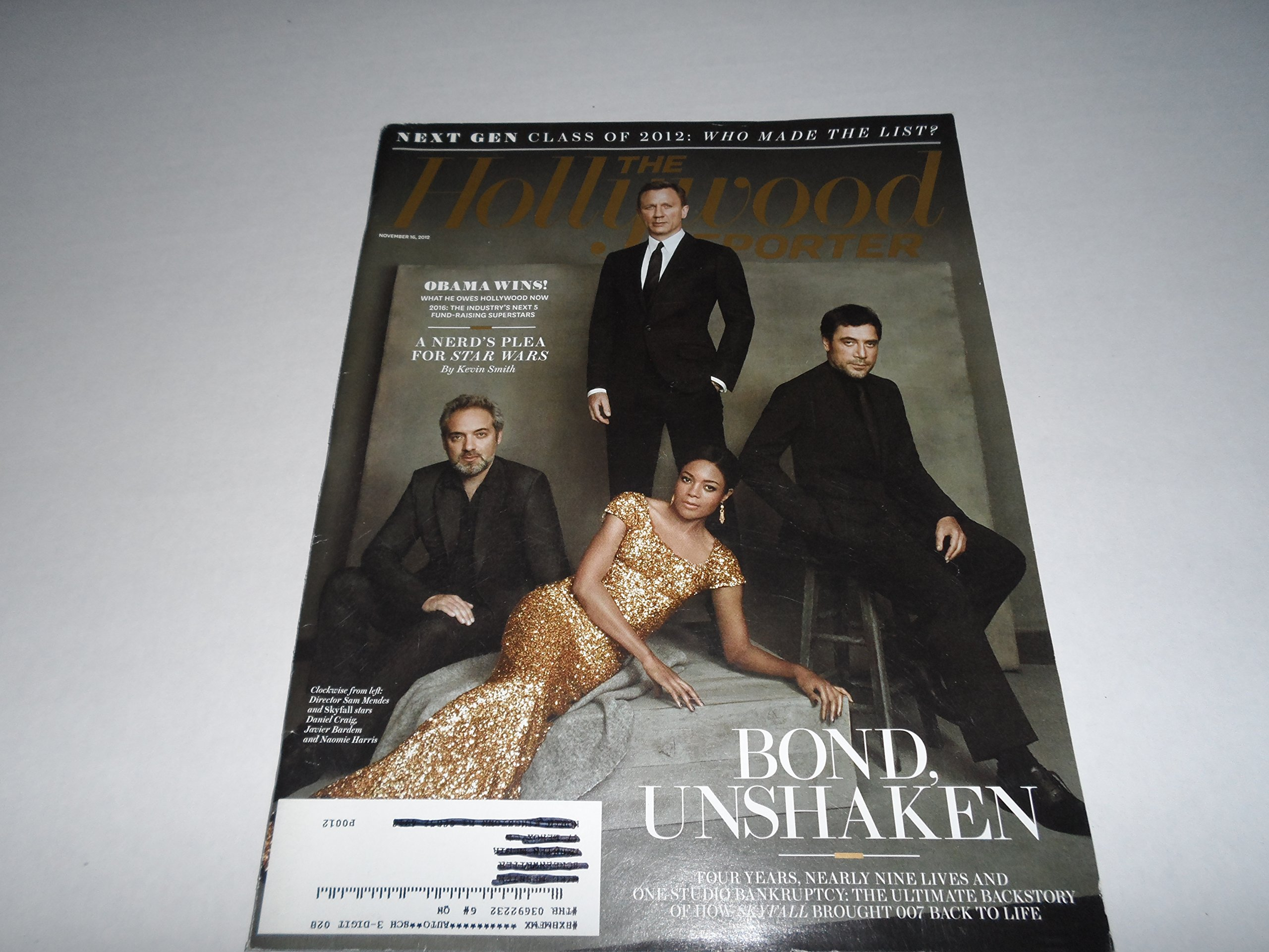 Read Online The Hollywood Reporter (Nov 16, 2012) Bond Unshaken - Daniel Craig; Skyfall, etc pdf