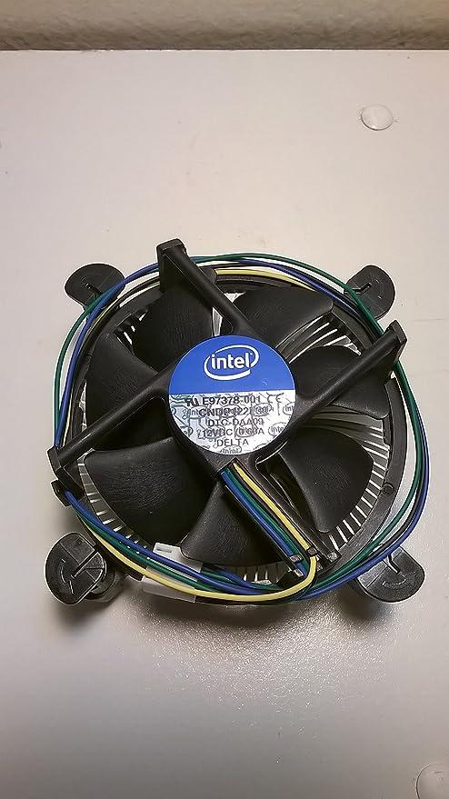 Amazon Com Intel I3 I5 I7 Cpu Cooling Fan Socket Lga 1155 Part E97378 Computers Accessories