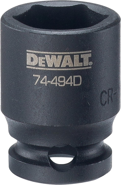 "DEWALT 3/8"" Drive Impact Socket 6 PT 15MM"