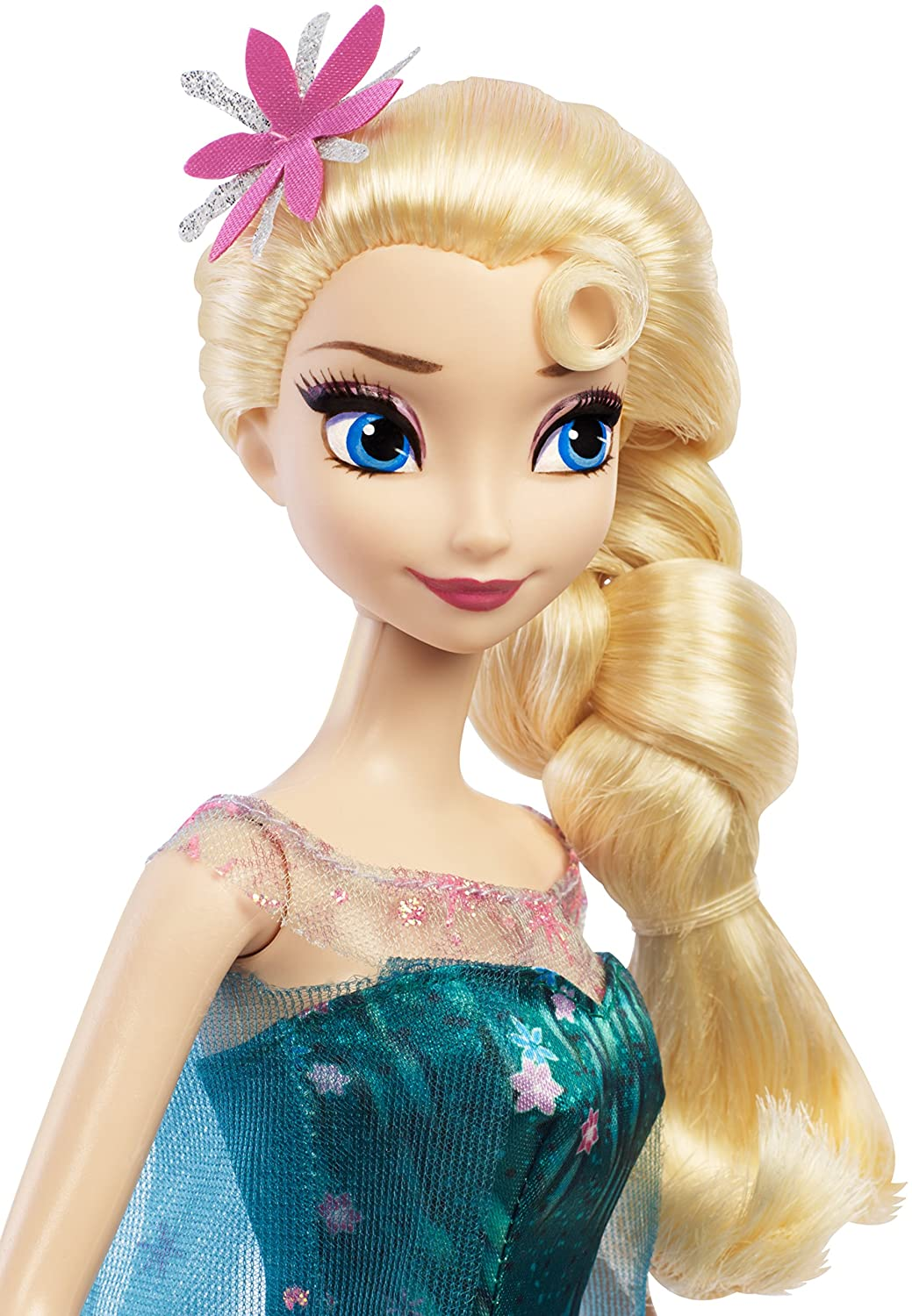 Amazoncom Disney Frozen Fever Birthday Party Elsa Doll