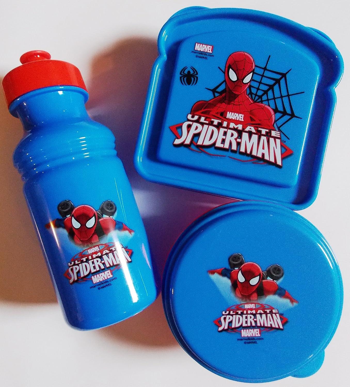 Marvel Ultimate Spider-Man 3-Piece Lunch Box Set