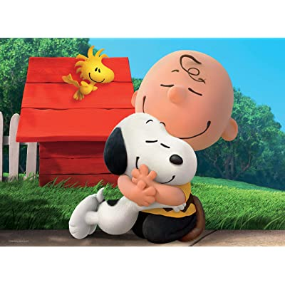 Peanuts Best Friends Jigsaw Puzzle, 100 Pieces: Toys & Games