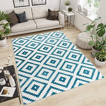 Dimension:60x100 cm Tapis TT Home Tapis Poils Ras Moderne ...