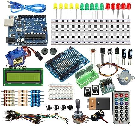 Amazon Sintron Arduino Uno R3 Board Starter Kit With Pdf