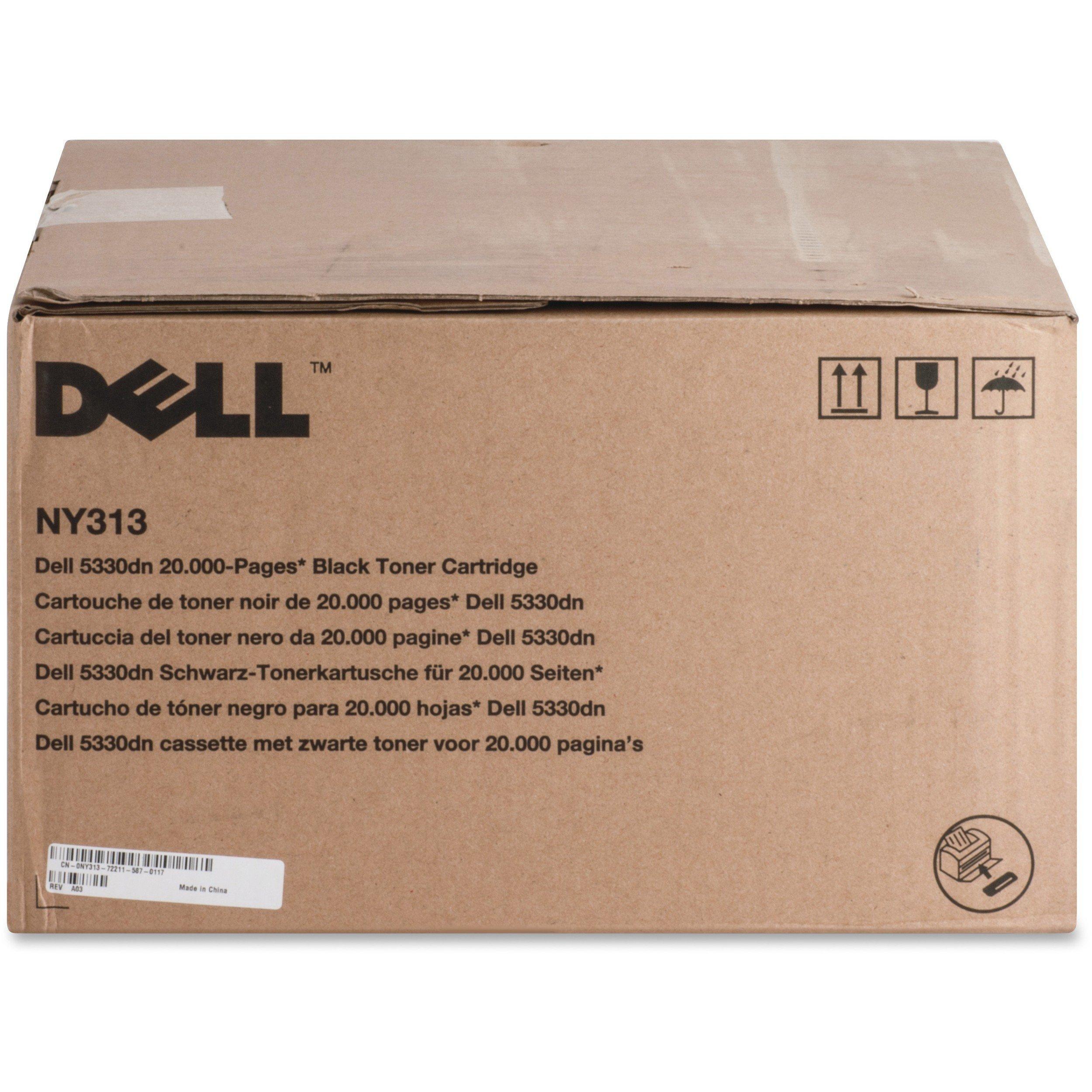 Toner Original DELL NY313 Black 5330dn Laser