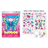 Glitter4Girls Girls Temporary Tattoos ~ 50 tattoos in every pack!