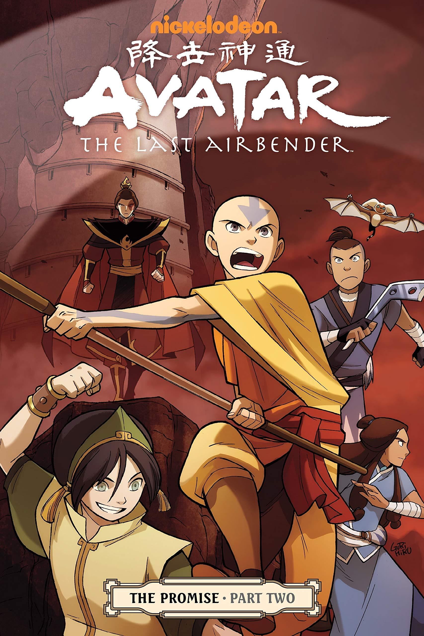 Amazon.com: Avatar: The Last Airbender: The Promise, Part 2  (9781595828750): Yang, Gene Luen, Koneitzko, Bryan, Various, Gurihiru: Books